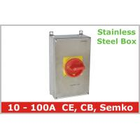 Stainless Steel Isolator Switch 3 Pole Manufactures