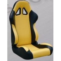 Comfortable Black And Yellow Racing Seats , Custom Racing Seats For Cars Manufactures