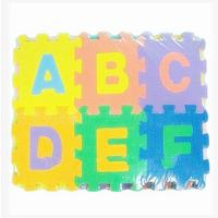 Quality hoting selling Eva foam floor mat ABC Words for sale