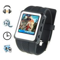 MP4 Player Watch - 1.5 Inch Screen, 8GB (Black) Manufactures