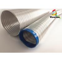 8 Inch Aluminum Flexible HVAC Duct Reliable For Air Conditioner Ventilation Manufactures