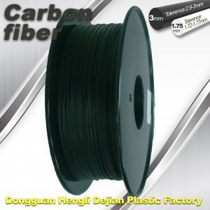 Carbonfiber 3D Printing Filament  .0.8kg / Roll ,1.75mm 3.0mm ,DEJIAN factory Manufactures
