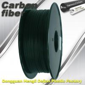 High Strength Carbon Fibre 3D Printer Filament 1.75 Mm Scrub Black 220°C Melt Print Manufactures