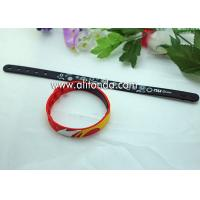 Promotional gifts custom soft silicone wristband for children sports meeting events club Manufactures