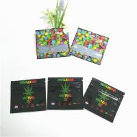 Three Sides Sealed Herbal Incense Packaging 3 Layers Laminated Foil Food Mylar Plastic Bags Manufactures
