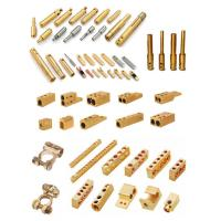 Anodizing Brass Electrical Fittings , Small Watertight EMT Fittings Custom Welding Manufactures