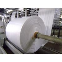 Fireproof PP Polypropylene Banner Material , Woven Pp Fabric For Latex Or UV Printing Manufactures