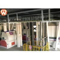 Steel Structure Livestock Animal Feed Production Line 2-12 Mm Pellets Diameter Manufactures