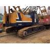 65 Ton Used Kobelco Crawler Crane 7065-2 With Lattice Boom Hino Engine for sale