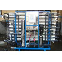 Brackish Water / Marine Water Maker , Reverse Osmosis Water Purification System Manufactures