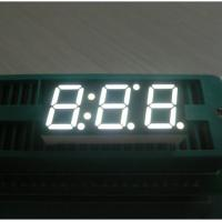 Triple - Digit 10mm Large 7 Segment Led Black Face Seven Segment Display Manufactures
