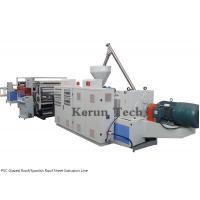 Buy cheap PVC Glazed Roof/Spanish Roof Sheet production Line/PVC Sheet Extrusion Line from wholesalers