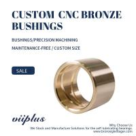 Premium Cast Bronze Bushing, Precision CNC Milling Copper Aluminium Alloy Bronze Bush Manufactures