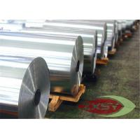 Household Alfoil Aluminum Thin Sheet Aluminium Foil Roll Jumbo For Roasting Trays Manufactures
