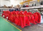 China Single / Double / Multiple Drum Marine Windlass Anchor Winch 200KN - 1500KN on sale