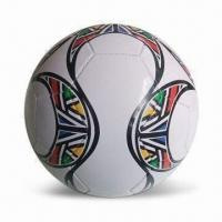 China Confederations World Cup Soccer Ball with 100% Rubber Bladder, Measures 66 x 21 x 42cm on sale
