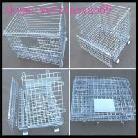 China Wire Mesh Storage Cage /security cage /pallet cage/metal storage cage/wire cage/steel storage cabinets/metal storage on sale