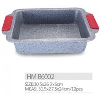 Carbon steel High strength non stick marble coating bread pan cookware bakeware Manufactures
