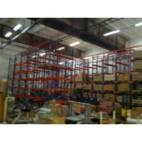 China Heavy Duty Industrial Warehouse Drive In Racking System 800 - 1400mm Width on sale