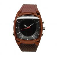 China Men's Dual Time Digital Wrist Watches Double Movement Analog Quartz Watches on sale