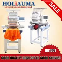 Top quality single head high speed industrial embroidery machine for sale Manufactures
