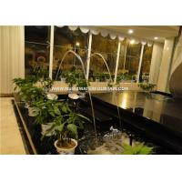 Modern Art Laminar Jet Fountain Nozzle With Led Light For Decorative Manufactures