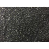 Buy cheap 540G/M Fashion 30% Wool Rayon Blend Fabric Black For Autumn Coat from wholesalers