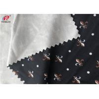 Printed 90% Polyester 10% Lycra Weft Knitted 4 Way Stretch Fabric For Swimwear / T-shirt Manufactures