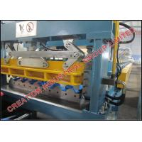 China Aluminium Metcopo Step Tile Roof Sheet Forming Machine Rollform Equipment on sale