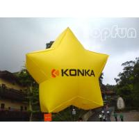 China Shining Star Inflatable Helium Balloon Advertising With 2mm PVC Tarpaulin on sale