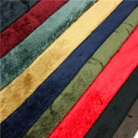 Buy cheap Fashion Durable Velboa Soft Toy Fur Fabric 200gsm~250gsm 28s/32s Density from wholesalers
