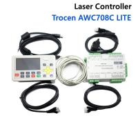 China 4 axis Double heads CO2 laser controller AWC708C LITE for laser engraving  machine on sale