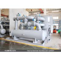 Chemical plant water Industrial Filtration System with automatic cleaning back blow system Manufactures