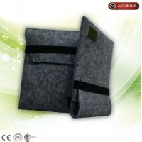 China Customized ipad canvas bag 10 Inch engrave scratch resistant tablet bag on sale