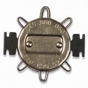 China Wire Spark Plug Gauge, Used for Adjust Electrode Gaps in Engine Ignition Systems on sale