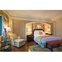 COC Luxury Hotel Bedroom Furniture With Dining Table Environmental Friendly Manufactures