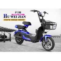 Cool Sport Style Adult Electric Bike 48v 20ah Front And Rear Drum Brake Manufactures