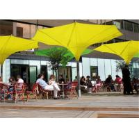 Single Post Large Tulip Umbrella Customized 6*6M Fashionable High Flexibility Manufactures