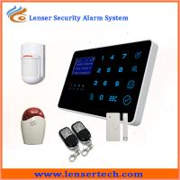2014 Newest Android app multi-language Touch home security gsm alarm system Manufactures
