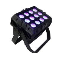 China Square Size 12pcs rgbwauv 6in1 Battery 2.4G Wireless Control Led Wall Wash Light on sale