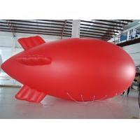 China Red Helium Advertising Balloons For Promotion With PVC Material Durable on sale