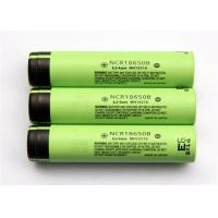 Cylindrical 3.6 V Rechargeable Battery / Lithium 18650 Battery , 18*65mm Manufactures