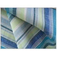 100% LINEN FABRIC WITH YARN DYED STRIPE     14SX14S  CWT #101 Manufactures