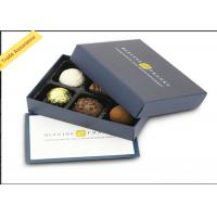 Elegant Luxury Cardboard Chocolate Boxes Paper Gift Packaging With Lid Manufactures