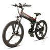 Buy cheap www.yolcart.com Samebike LO26 Smart Folding Moped Electric Bike E-bike - BLACK from wholesalers