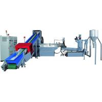 China PP, PE, PET Plastic Recycling Pellet Machine With Special Screw Design on sale