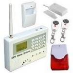 1200mAH Backup Battery SIMCOM900B 900Mhz / 850Mhz Wireless GSM House Burglar Alarm Manufactures