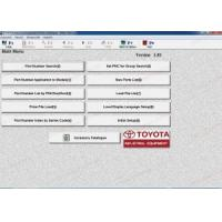 Toyota Industrial v1.84 electronic parts catalog for forklift trucks Manufactures