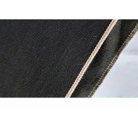 Printed Woven Cotton Denim Fabric Black Selvedge Line Eco Friendly W05727C - 7 Manufactures
