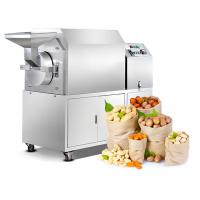 stainless steel roasted pepper soya beans machine walnut hazelnut roasting maker equipment Manufactures